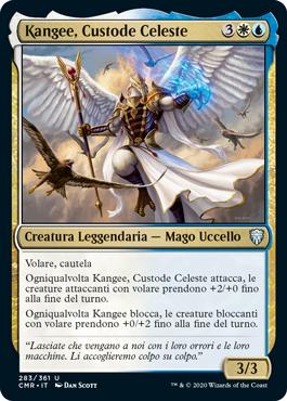 Kangee, Custode Celeste