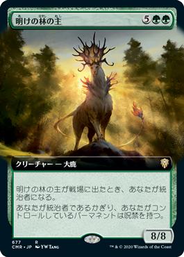 明けの林の主