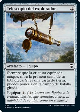 Telescopio del explorador