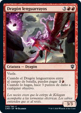 Dragón lenguarrayos