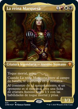 La reina Marquesa