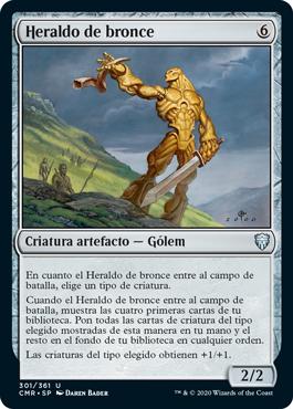 Heraldo de bronce
