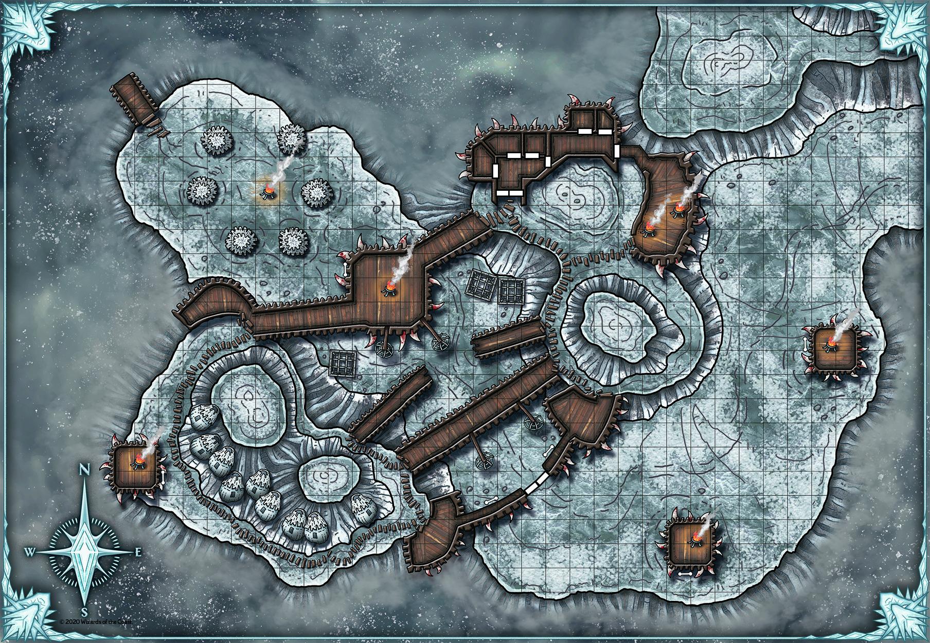 Dragon+ #35: le Mappe di Dicembre per D&D 5e