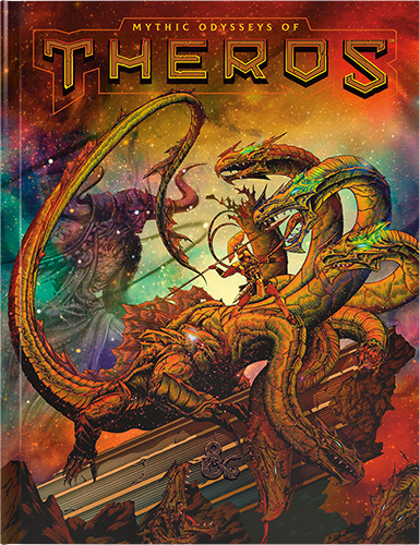Mythic Odysseys of Theros (Alternate Cover): Dungeons and Dragons -  Wizards of the Coast