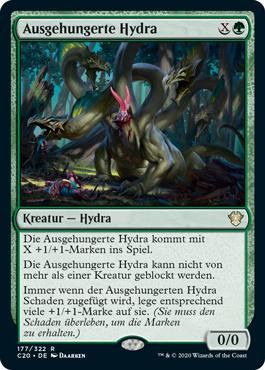 Ausgehungerte Hydra
