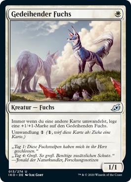 Gedeihender Fuchs