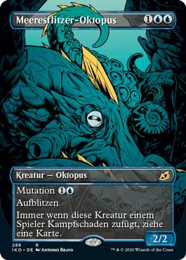 Meeresflitzer-Oktopus