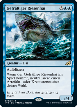 Gefräßiger Riesenhai