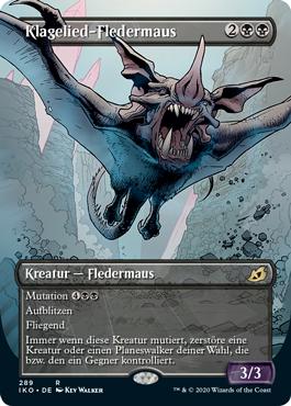 Klagelied-Fledermaus