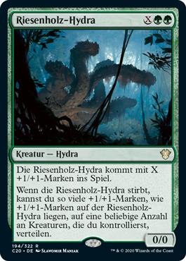Riesenholz-Hydra
