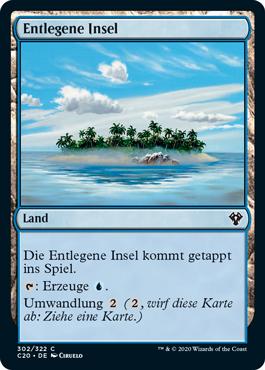 Entlegene Insel