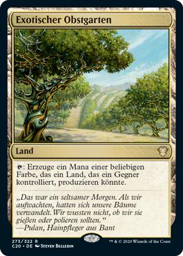 Exotischer Obstgarten