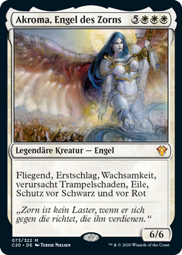 Akroma, Engel des Zorns