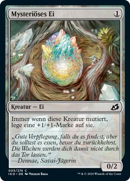 Mysteriöses Ei