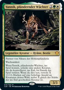 Yannik, plündernder Wächter