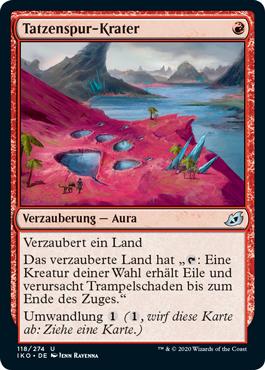 Tatzenspur-Krater