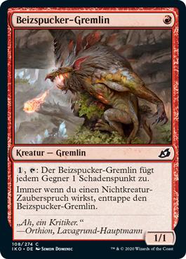 Beizspucker-Gremlin