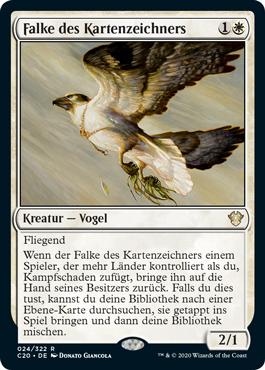 Falke des Kartenzeichners