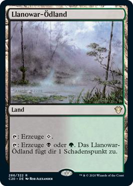 Llanowar-Ödland