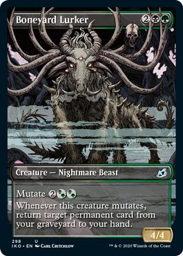 4x Glowstone RecluseFOILIkoria Lair of BehemothsMTG Magic Cards