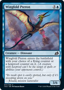 Wingfold Pteron