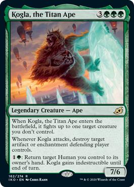Kogla, the Titan Ape
