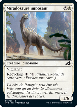 Miradosaure imposant
