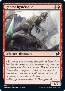 Raptor hystérique