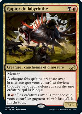 Raptor du labyrinthe
