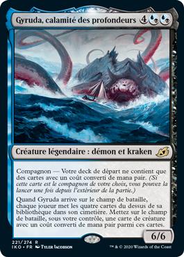 Gyruda, calamité des profondeurs