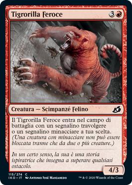 Ferocious Tigorilla