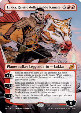 Lukka, Coppercoat Outcast