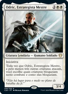 Odric, Estrategista Mestre