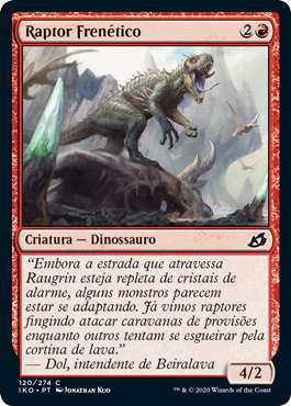 Raptor Frenético