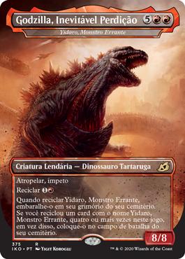 Yidaro, Monstro Errante