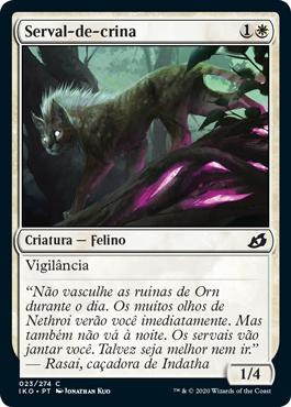 Serval-de-crina