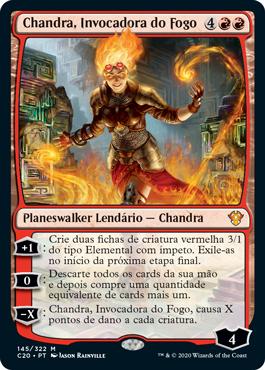 Chandra, Invocadora do Fogo