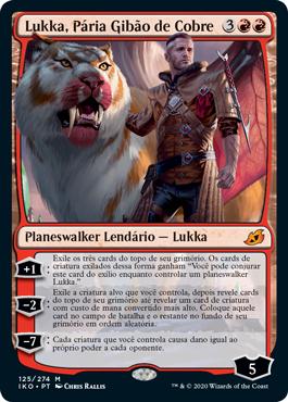 Lukka, Pária Gibão de Cobre