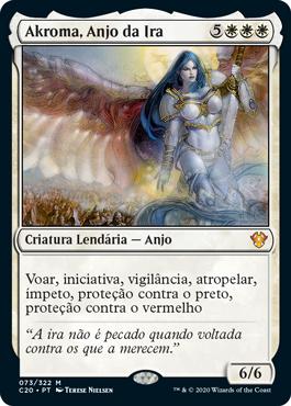 Akroma, Anjo da Ira
