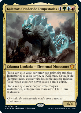 Kalamax, Criador de Tempestades