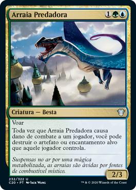 Arraia Predadora
