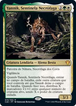 Yannik, Sentinela Necrófaga
