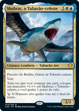Shabraz, o Tubarão-celeste