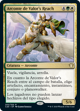 Arconte de Valor's Reach