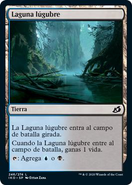 Laguna lúgubre
