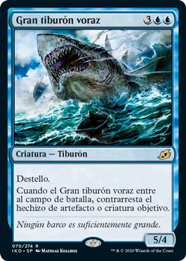 Gran tiburón voraz