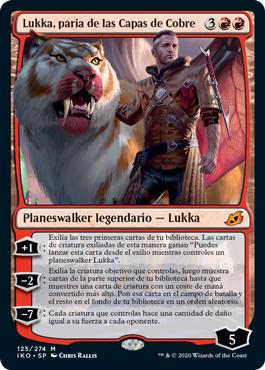 Lukka, paria de las Capas de Cobre