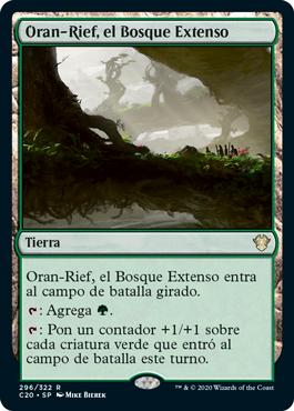 Oran-Rief, el Bosque Extenso