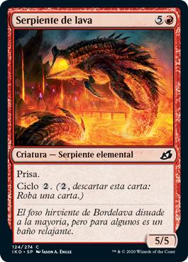 Serpiente de lava