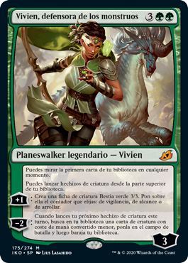 Vivien, defensora de los monstruos